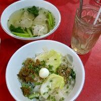 Photo taken at Bakmi Ayam & Chinese Food AKAI by Sanny S. on 9/6/2012