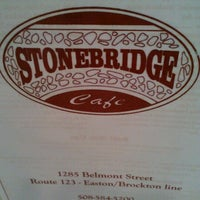 Photo taken at Stonebridge Cafe by Emily A. on 6/16/2012