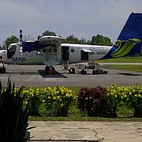 Photo taken at Mukah Airport (MKM) by mazlan k. on 8/22/2012