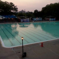 Photo taken at Astoria Park Pool by Marijana S. on 6/29/2012