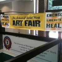 Photo taken at School of Social Work by Garri M. on 7/21/2012