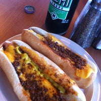 Photo taken at Joey's Hot Dogs by Fred W. on 6/23/2012