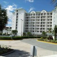 Photo taken at Resort on Cocoa Beach by Deborah G. on 4/22/2012