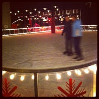 Photo taken at The Standard Ice Rink by David E. on 2/9/2012