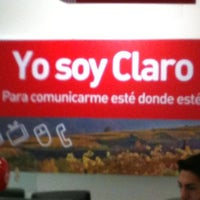 Photo taken at Oficina Claro chile by Caro C. on 4/21/2012
