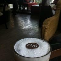 Photo taken at Chu Chocolate Bar & Café by Merci P. on 3/19/2012