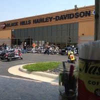 Photo taken at Black Hills Harley-Davidson by The Coffee C. on 6/30/2012