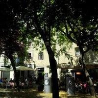 Photo taken at Placa Allada Vermell by Raul R. on 6/25/2012