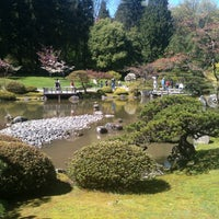 Photo taken at Seattle Japanese Garden by Andrew R. on 4/22/2012