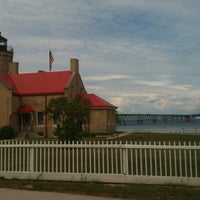 Photo taken at Old Mackinac Point Lighthouse by Danielle on 8/13/2012