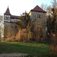 Photo taken at Burg Neuhaus by Waldheins on 4/8/2012