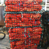Photo taken at Thurston's Lobster Pound by Patrick K. on 8/4/2012