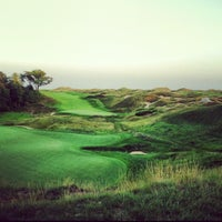 Photo taken at Whistling Straits Golf Course by Jasmine Y. on 8/30/2012