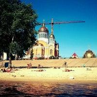 Снимок сделан в Оболонский пляж пользователем Chelavek M. 8/4/2012