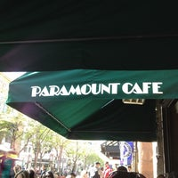 Photo taken at Paramount Cafe by Neda H. on 4/8/2012