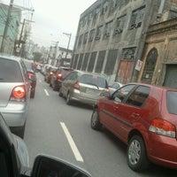 Photo taken at Rua da Mooca by Sandra J. on 2/13/2012