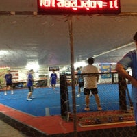 Photo taken at TRiGOAL Football Park (สนามไตรโกล) by ฒนัฐ บ. on 7/25/2012