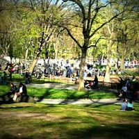 Photo taken at Heckscher Playground by Syaheed w. on 4/6/2012