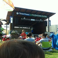 Photo taken at Levitt Pavilion by Hector S. on 6/27/2012