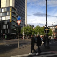 Photo taken at Friesenplatz by Nurdan T. on 4/19/2012