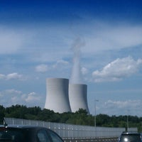 Photo taken at Dominion Power Plant by Christopher P. on 8/22/2012