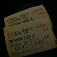 Photo taken at eVent Cinemas by Kim Q. on 7/21/2012