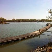 Photo taken at Yachthafen Kuchelau by Signe L. on 4/9/2012