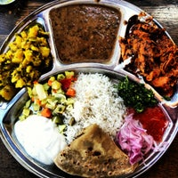 Photo taken at Kasa Indian Eatery by Lady G. on 6/28/2012