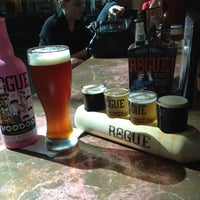 Photo taken at Rogue Ales Public House by Shawn B. on 9/4/2012