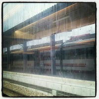 Photo taken at Estación de Gijón by Rodrigo A. on 5/15/2012