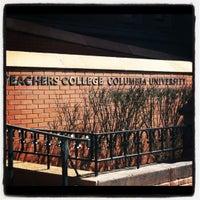 Photo taken at Teachers College, Columbia University by JoJo V. on 3/20/2012