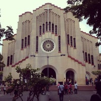 Photo taken at National Shrine of Our Mother of Perpetual Help (Redemptorist Church) by Mark R. on 5/20/2012