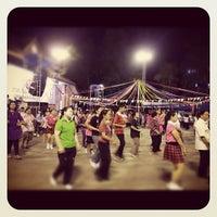Photo taken at Chiang Rai Walking Street by Kanjanee B. on 8/4/2012