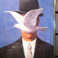 Photo taken at Magritte Museum by jerome d. on 2/18/2012