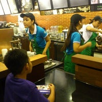 Photo taken at Starbucks Coffee by Clarence Rafael A. on 6/16/2012