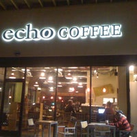 Photo taken at Echo Coffee by Raquel L. on 3/3/2012