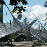Photo taken at Olympiapark by CiNNAMON C. on 5/17/2012