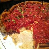 Photo taken at Zachary's Chicago Pizza by Yas H. on 8/19/2012