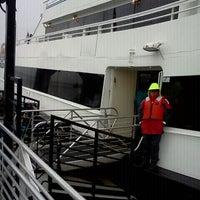 Photo taken at Alcatraz Cruises by Samantha M. on 3/24/2012