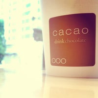 Photo taken at Cacao Drink Chocolate by Daniel H. on 6/10/2012