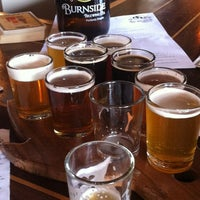 Photo taken at Burnside Brewing Co. by Erin G. on 8/17/2012