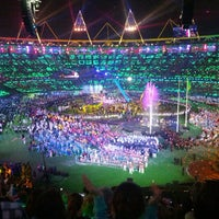 Photo taken at London Stadium by Ashley N. on 9/9/2012