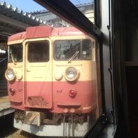 Photo taken at Toyama Station by Dringe Sangsu A. on 8/2/2012