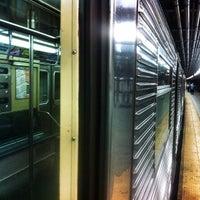 Photo taken at MTA Subway - A Train by Jr D. on 8/31/2012