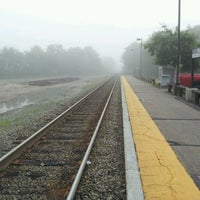 Photo taken at Walpole Train Station by Ayman H. on 6/8/2012