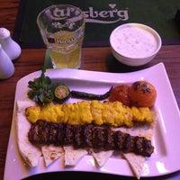 Photo taken at Atashkadeh Restaurant & Bar by Emre W. on 2/23/2012