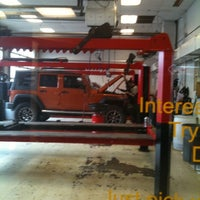 Photo taken at Royal Gate Dodge Chrysler Jeep Ram by Lisa K. on 2/16/2012