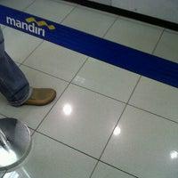 Photo taken at Bank Mandiri Kebayoran lama by Dindriani T. on 5/11/2012