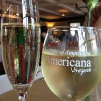 Photo taken at Americana Vineyards & Winery by THOMAS G. on 5/13/2012