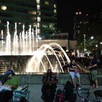 Photo taken at Campus Martius by Tommy A. on 9/1/2012